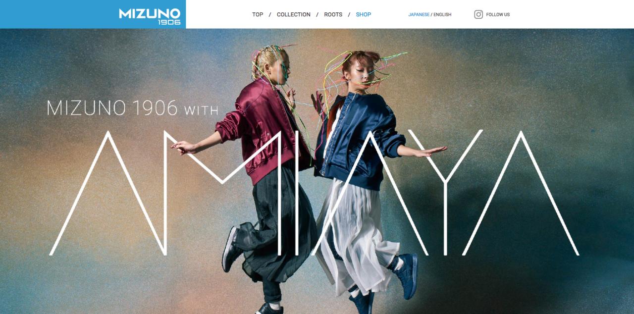 MIZUNO×AMIAYA Campaign