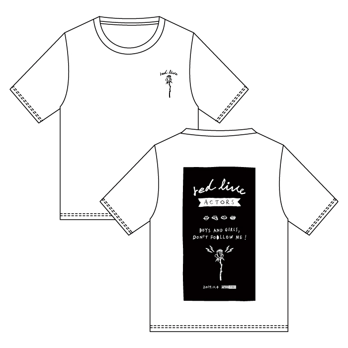ACTORS STUDIO Goods T-shirt
