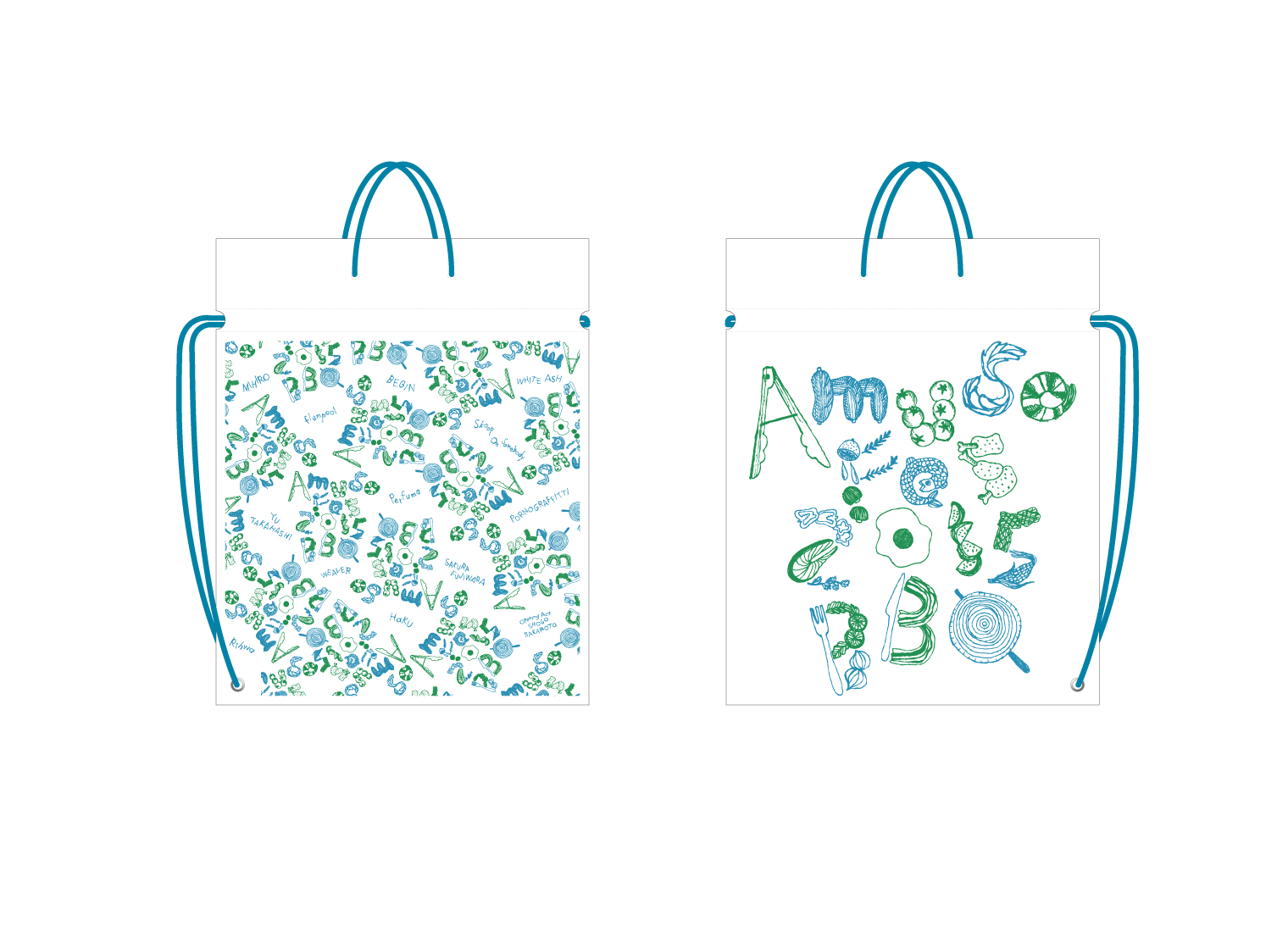 Amuse Fes 2015 Goods Bag