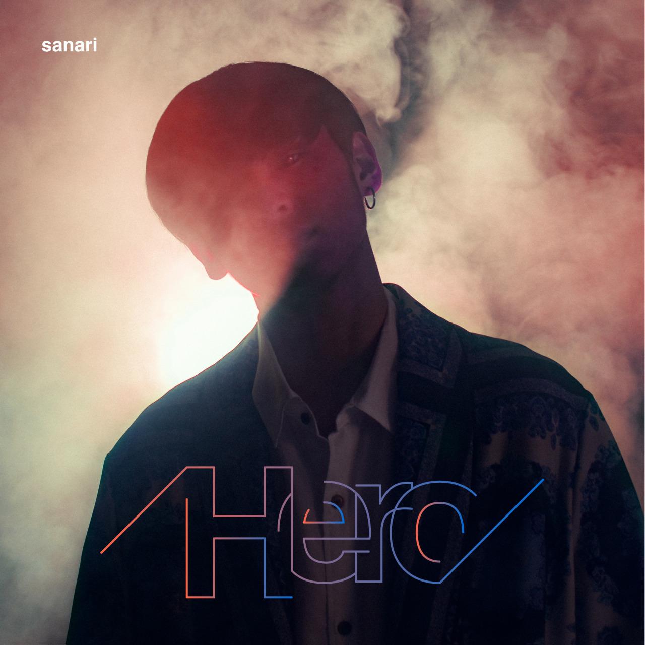 さなり 「Hero」CD Jacket / Artist Photo