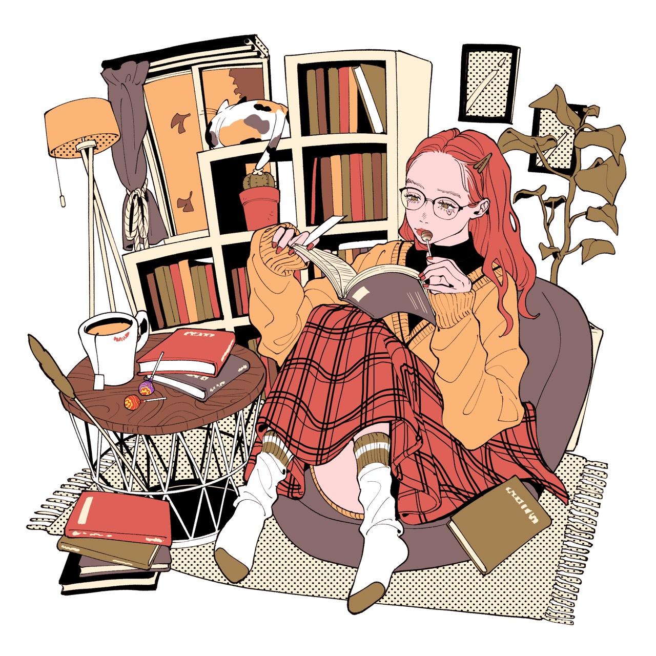 chupachups japan「食欲の秋」Illustration
